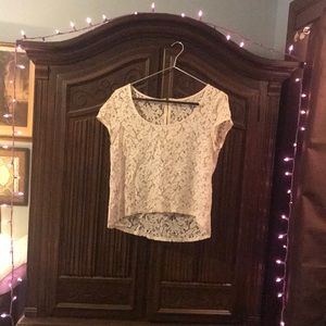 Tops - Lacy Decadent See-Through Top